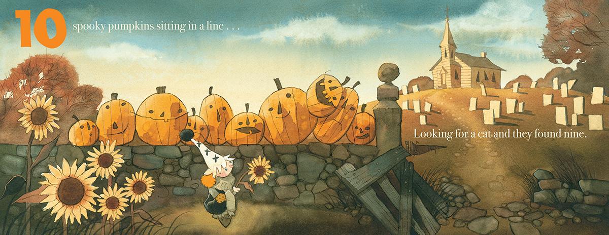 Ten Spooky Pumpkins | Scholastic Canada