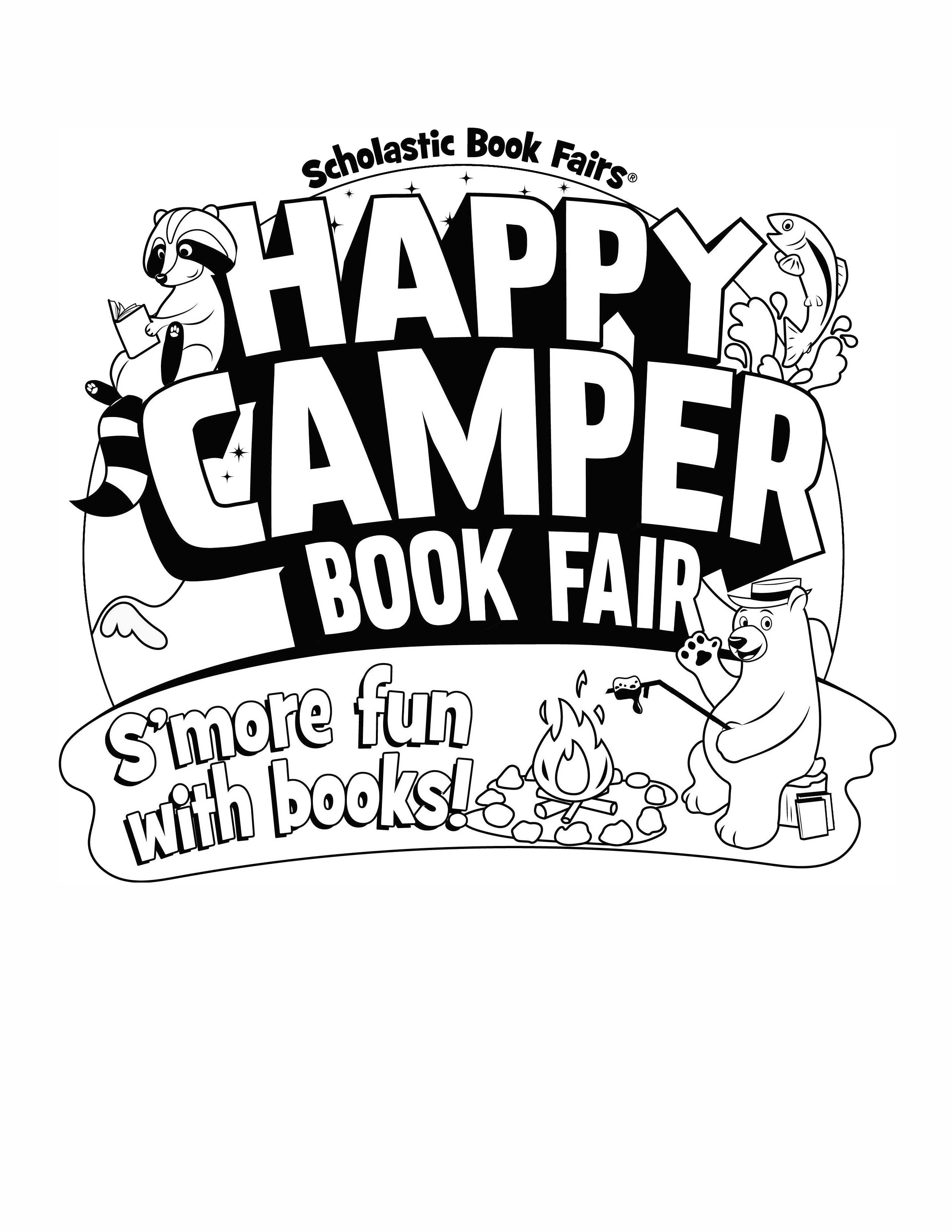 happy camper coloring pages - photo#33