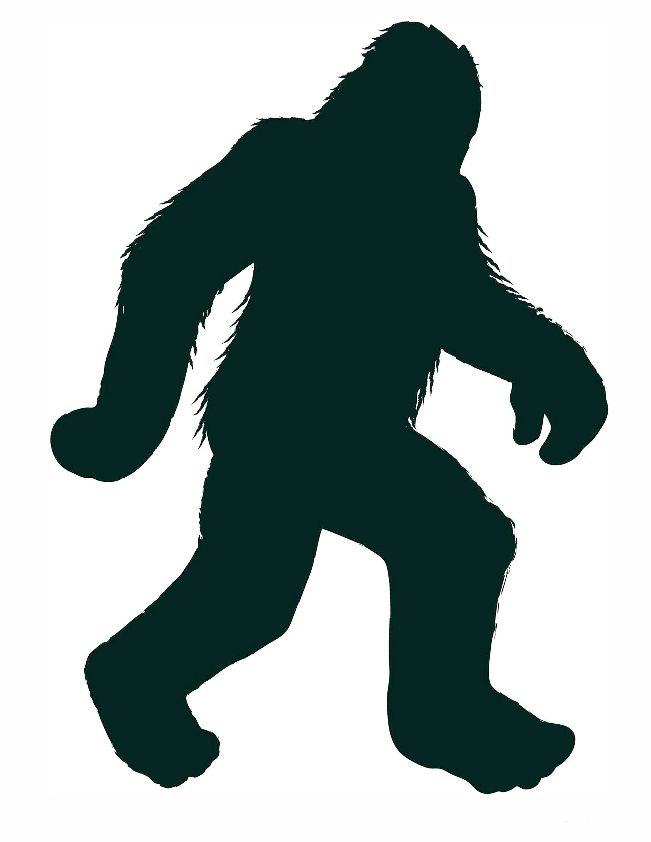 bigfoot outline - photo #8