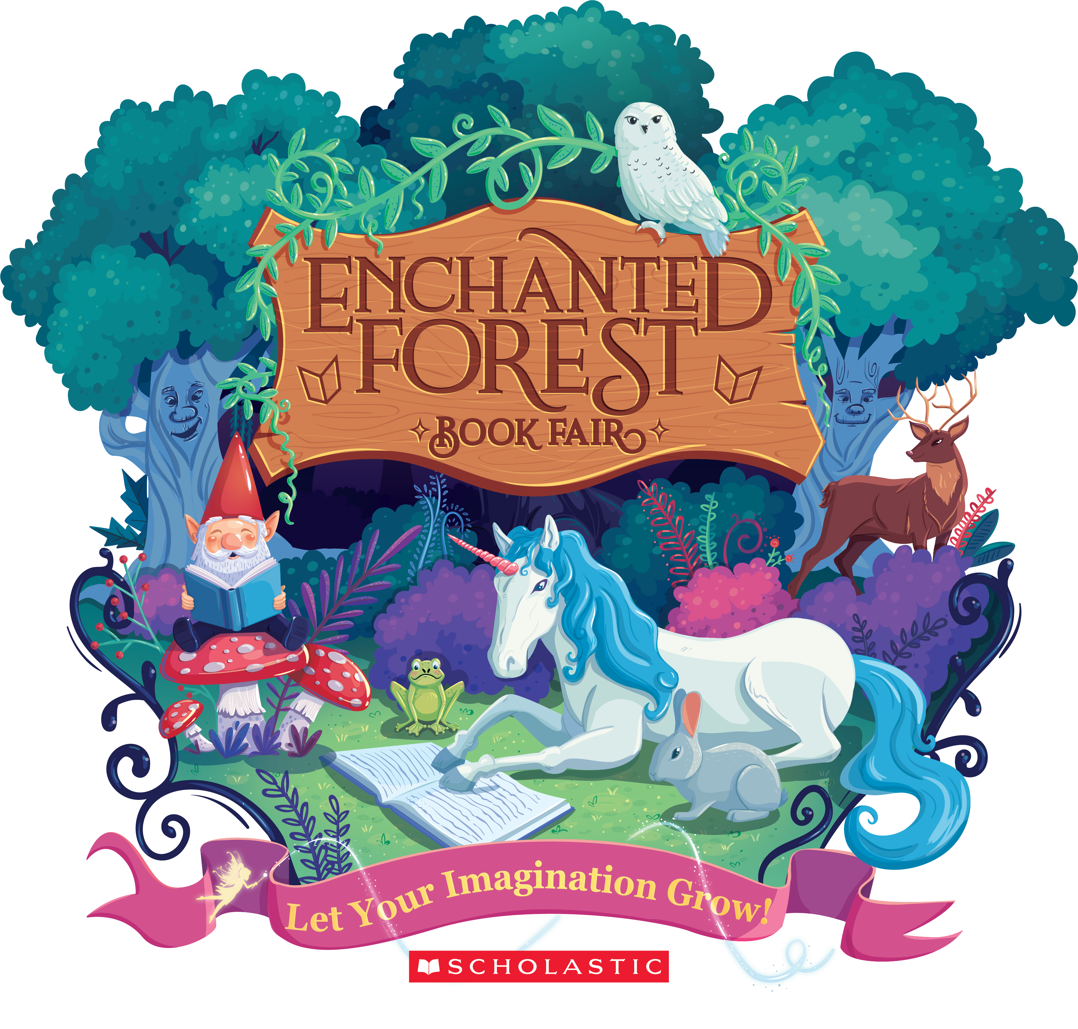 Image result for enchanted forest owl clipart free