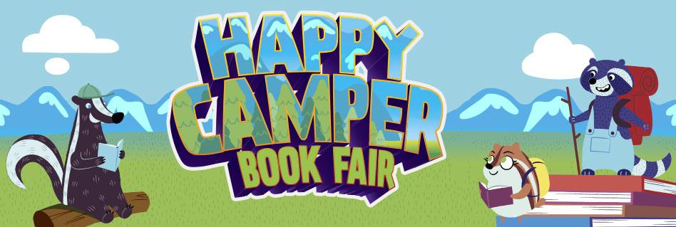 Image result for haPPY CAMPER SCHOlastic book fair