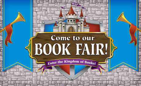 Come to our Book Fair. Enter the kingdom of books.