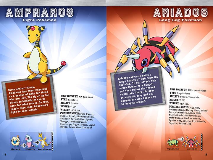 scholastic canada pokemon johto handbook
