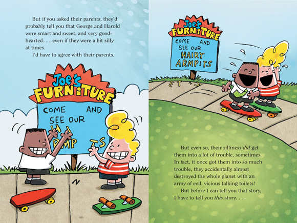 Scholastic Canada Captain Underpants And The Attack Of The Talking