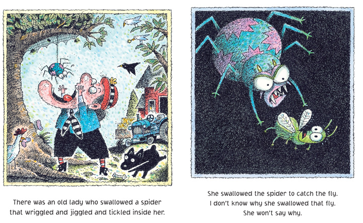 scholastic canada there was an old lady who swallowed a fly