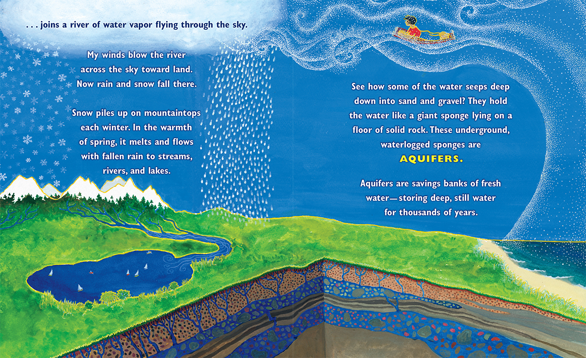 Scholastic Canada Rivers Of Sunlight How The Sun Moves Water - Rivers around the world