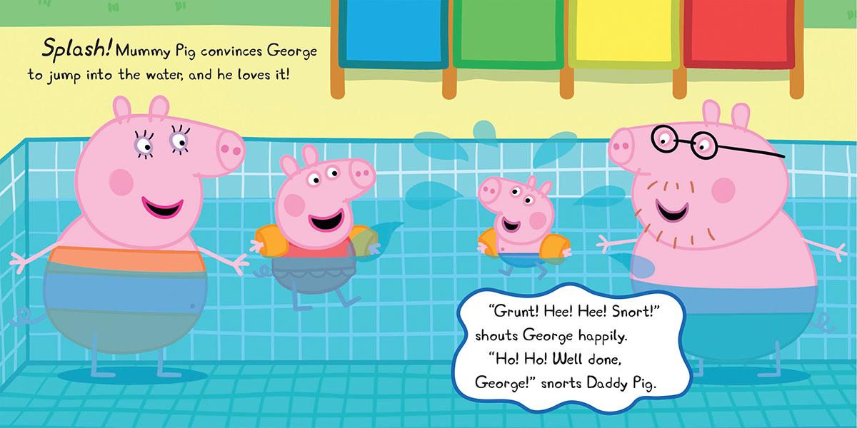 Scholastic Canada Peppa Pig Peppa Goes Swimming