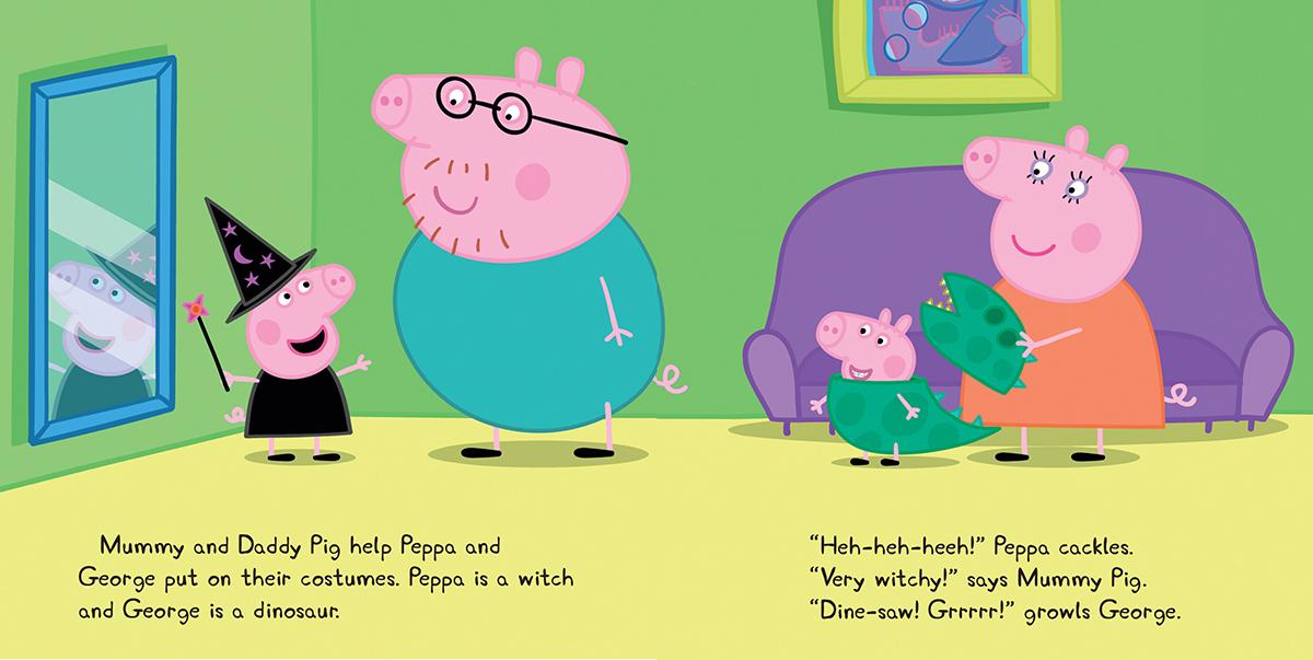 Scholastic Canada | Peppa Pig: Peppa's Halloween Party