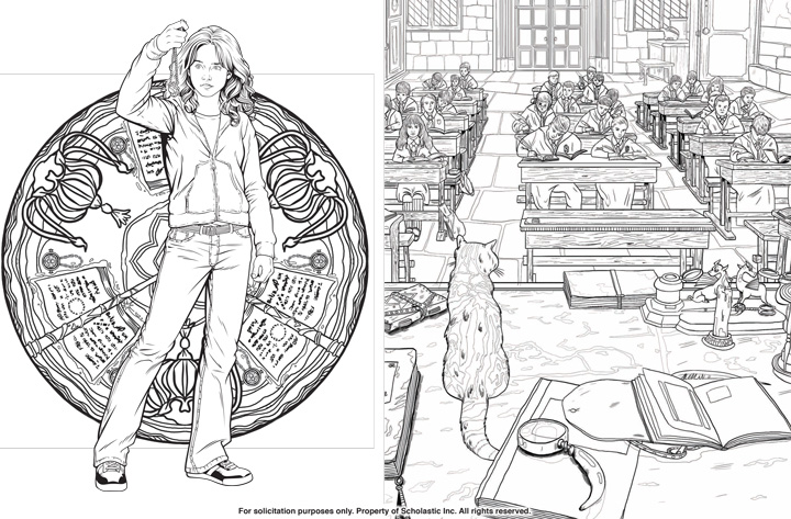 Harry Potter Coloring Book Images – Pusat Hobi