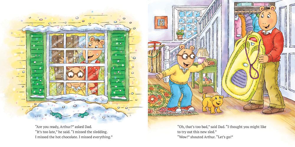 Arthur And The Big Snow Scholastic Canada