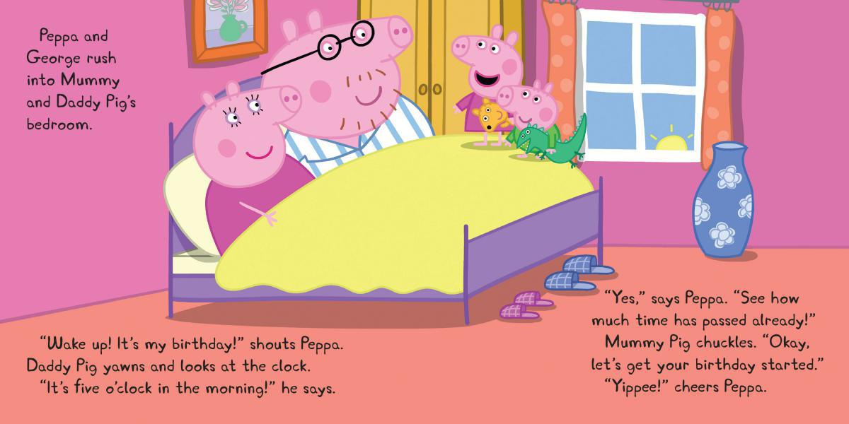 Peppa Pig Happy Birthday Peppa Pig Amazon De Bucher