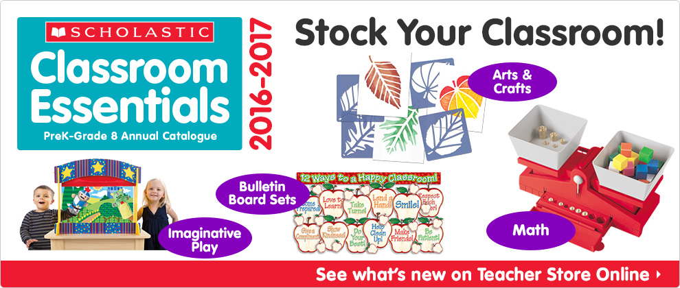Stock Your Classroom!