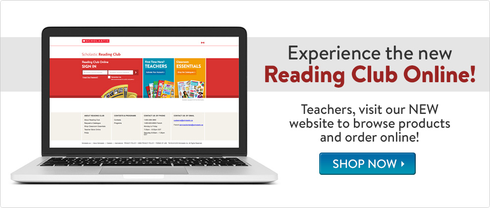 Experience the new Reading Club Online!