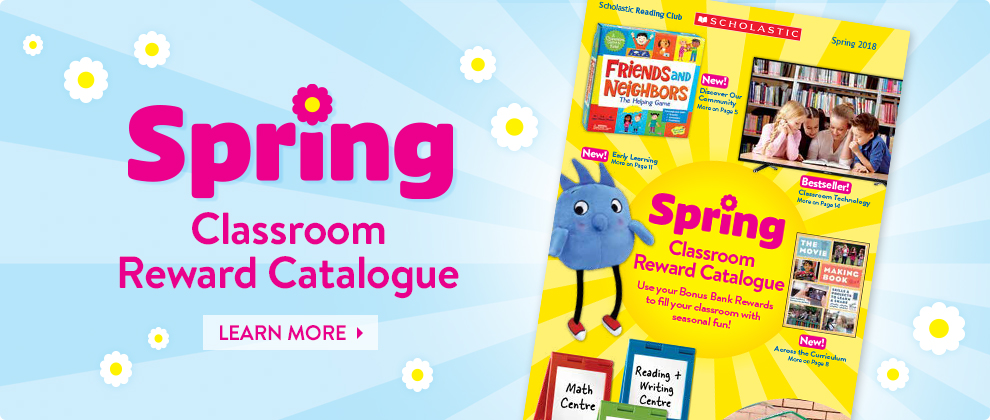 Spring Classroom Rewards Catalogue