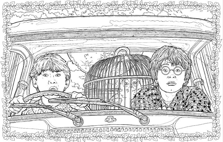 Éditions Scholastic | Harry Potter - Le livre de coloriage ...