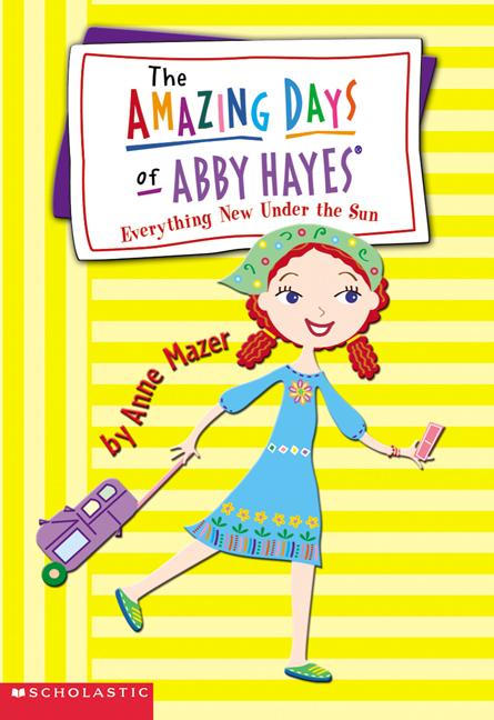 9 AMAZING DAYS ABBY HAYES children BOOK LOT Anne Mazer 5th grade level Hays