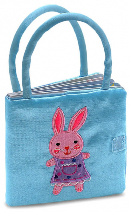 Bunny Book and Purse