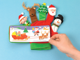 Merry Christmas : Hand Puppet Board Book