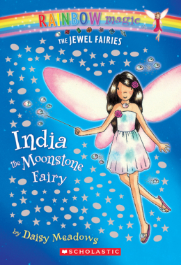 Rainbow Magic Jewel Fairies: India the Moonstone Fairy