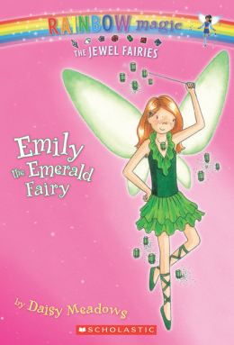 Rainbow Magic Jewel Fairies: Emily the Emerald Fairy