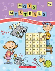 Mots mystères n° 12