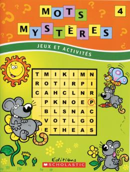 Mots mystères n° 4