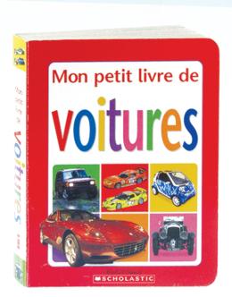 Mon petit livre de voitures