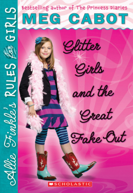 Allie Finkle's Rules for Girls Book Five: Glitter Girls and the Great Fake-Out