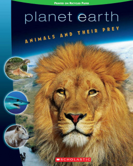 Planet Earth Scrapbook #1: Animals and their Prey
