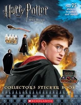 Harry Potter and the Half Blood Prince Collector's Sticker Book