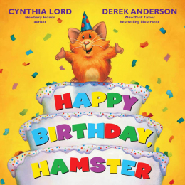 Happy Birthday Hamster