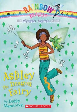 Rainbow Magic: The Magical Animal Fairies #1: Ashley the Dragon Fairy