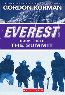 Everest book one the contest questions
