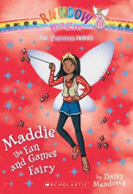 Rainbow Magic: The Princess Fairies #6: Maddie the Fun and Games Fairy