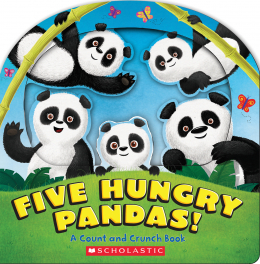 Five Hungry Pandas!