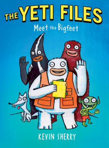 The Yeti Files #1: Meet the Bigfeet