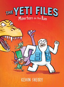 The Yeti Files #2: Monsters on the Run