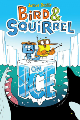 Bird and Squirrel on Ice