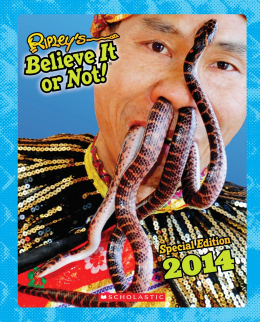 Ripley's Believe It or Not! Special Edition 2014