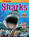 Scholastic Discover More: Sharks Stickerbook