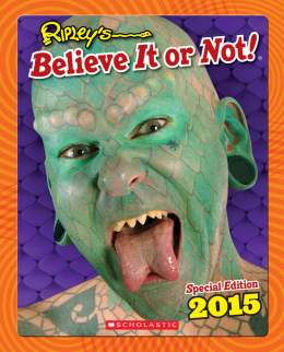 Ripley's Believe It or Not! (Special Edition 2015)