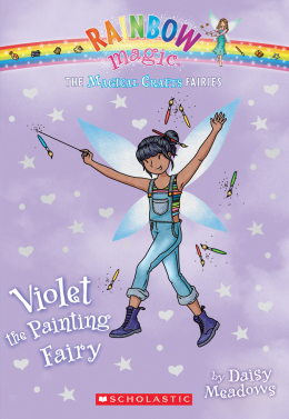 Rainbow Magic: The Magical Crafts Fairies #5: Violet the Painting Fairy