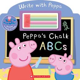 Peppa Pig: Peppa's Chalk ABCs