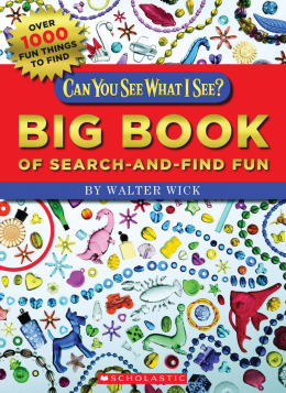 scholastic canada can you see what i see big book of search and