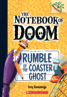 The Notebook of Doom #9: Rumble of the Coaster Ghost