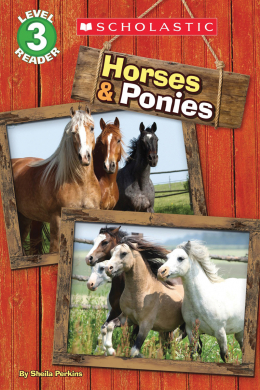 Scholastic Reader, Level 3: Horses and Ponies