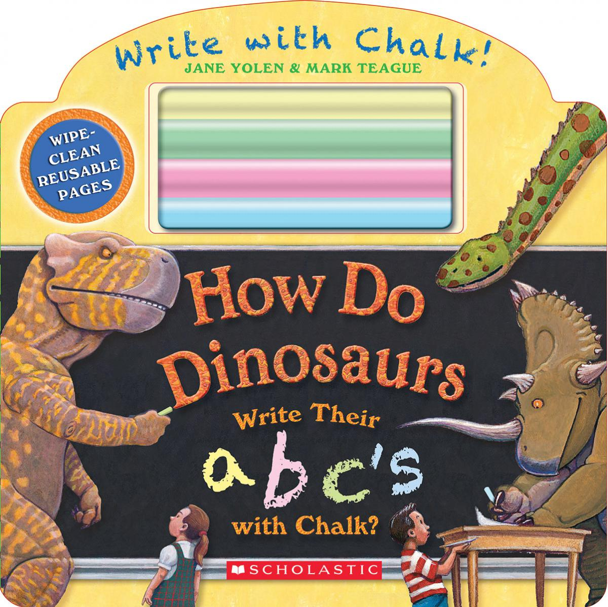 How Do Dinosaurs Write Their ABC's?