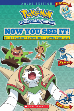Now You See It! Kalos Edition (Pokemon)