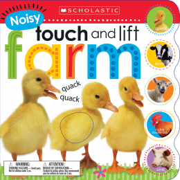 Scholastic Early Learners: Noisy Touch and Lift Farm