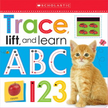 Scholastic Early Learners: Trace, Lift, and Learn ABC 123